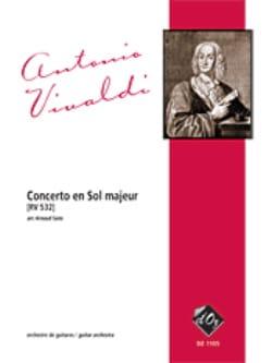 VIVALDI - Concerto in G Major Sol 532 - Sheet Music - di-arezzo.co.uk
