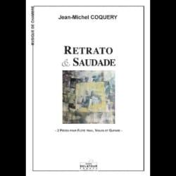 Retrato & Saudade - Jean-Michel Coquery - Partition - laflutedepan.com