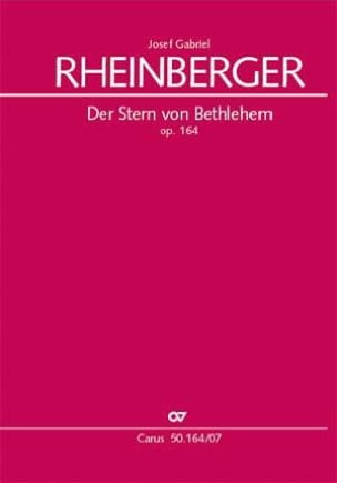 Joseph Rheinberger - Der Sterne Von Bethlehem The Star of Bethlehem Op. 164 - Sheet Music - di-arezzo.com
