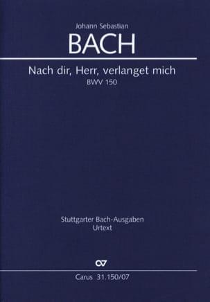 Nach Dir, Herr, Verlanget Mich - BWV 150 BACH Partition laflutedepan