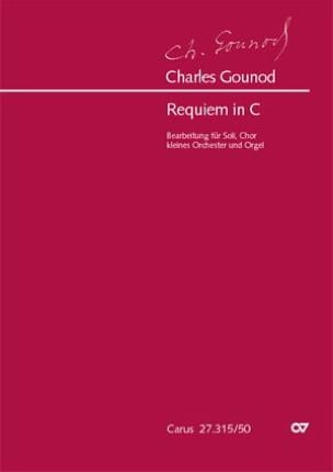 Charles Gounod - Requiem en Ut Majeur - Partition - di-arezzo.fr