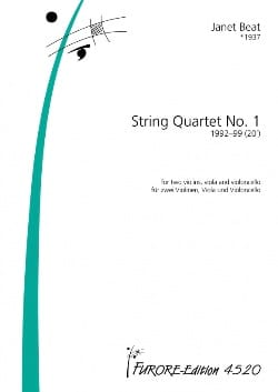 Janet Beat - Quatuor A Cordes N°1 - Partition - di-arezzo.fr