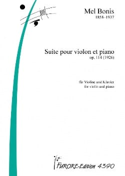 Mel Bonis - Suite for Violin and Piano - Sheet Music - di-arezzo.co.uk