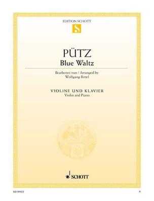 Blue Waltz - Eduard Pütz - Partition - Violon - laflutedepan.com