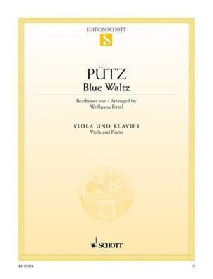 Eduard Pütz - Blue Waltz - Partition - di-arezzo.fr