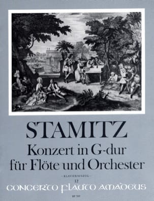 Carl Stamitz - Konzert in G-Dur for Flute and Orchester Opus 29 - Sheet Music - di-arezzo.com