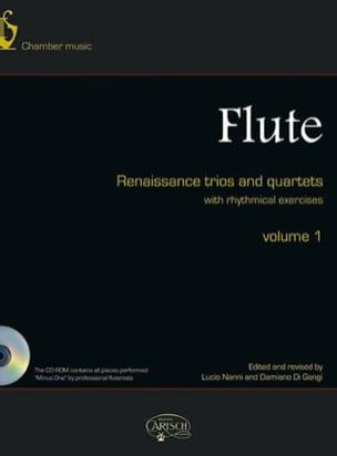 Trios et Quatuors Pour Flûte de la Renaissance - Partition - di-arezzo.fr