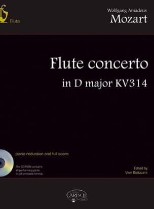 Wolfgang Amadeus Mozart - Concerto Pour Flûte en Ré Maj., Kv 314 - Partition - di-arezzo.fr