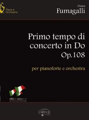 Disma Fumagalli - Primo Tempo Di Concerto In C Op. 108 - Sheet Music - di-arezzo.co.uk