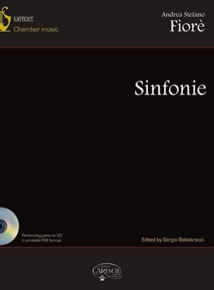 Andrea Stefano Fiorè - Sinfonie - Sheet Music - di-arezzo.co.uk