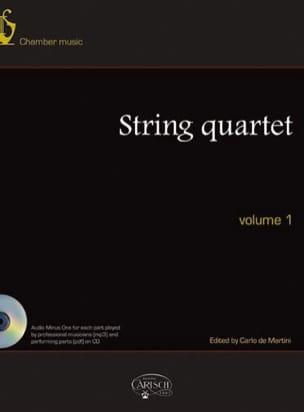 - Quatuors A Cordes, Volume 1 - Partition - di-arezzo.fr