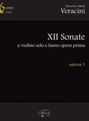 12 Sonates Pour Violon et Basse Continue - Volume 1 laflutedepan