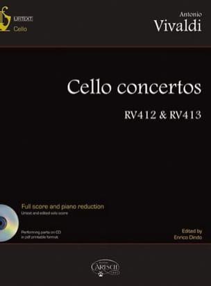 VIVALDI - Concertos Pour Violoncelle - Volume 2 - Partition - di-arezzo.fr