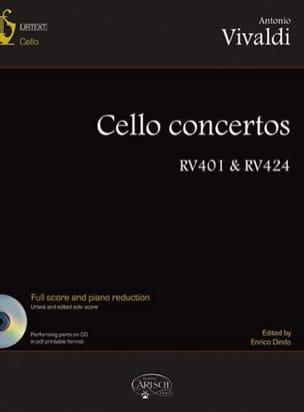 VIVALDI - Concertos Pour Violoncelle , Volume 1 - Partition - di-arezzo.fr