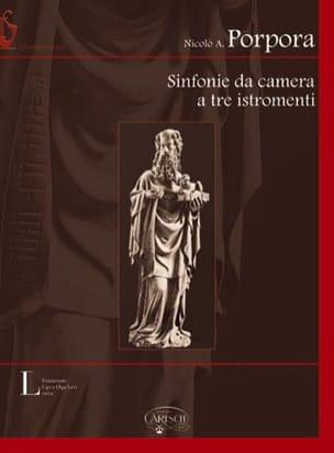 Nicola Antonio Porpora - Sinfonie Da Camera A Tre Istromenti - Partition - di-arezzo.fr