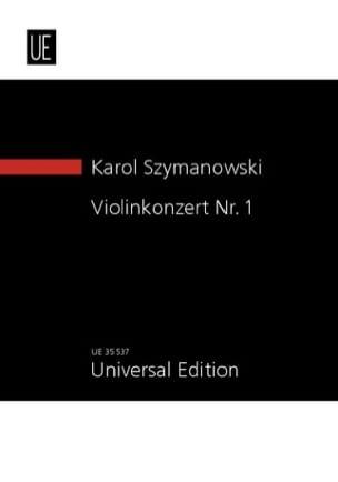 Concerto pour Violon N° 1, Op. 35 Karol Szymanowski laflutedepan