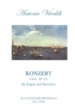 VIVALDI - Konzert C-Dur Rv 471 - Fagott / Klavier - Sheet Music - di-arezzo.com