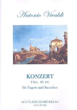 Antonio Vivaldi - Konzert F-Dur Rv 490 - Fagott Klavier - Partition - di-arezzo.fr