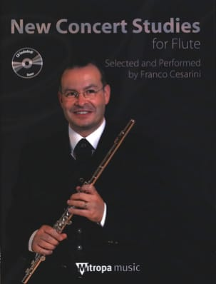 New Concert Studies for Flute + CD - Partition - laflutedepan.com