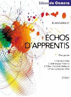 Echos d'apprentis - Cycle 1 - Alain Lenglet - laflutedepan.com