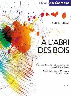A l'abri des bois - André Telman - Partition - laflutedepan.com