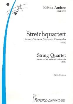 Quatuor à Cordes - Elfrida Andrée - Partition - laflutedepan.com