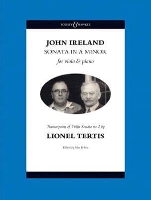 john Ireland - Sonata en la mineur - Partition - di-arezzo.fr