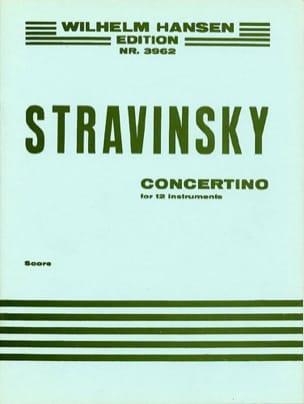 Concertino 1952 For 12 Instruments - laflutedepan.com