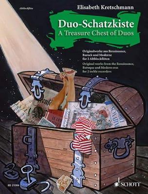 Duo-Schatzkiste - Partition - Flûte à bec - laflutedepan.com