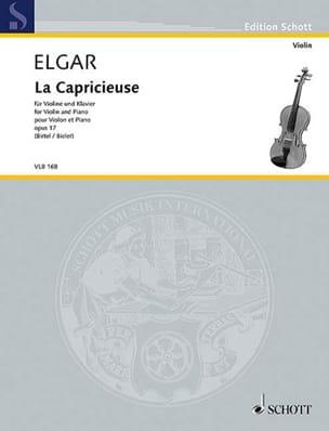 ELGAR - La Capricieuse, op. 17 - Partition - di-arezzo.fr