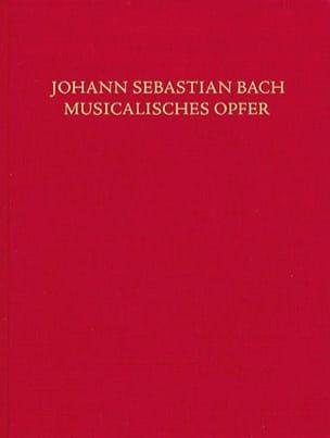 L'offrande musicale, BWV 1079 - BACH - Partition - laflutedepan.com