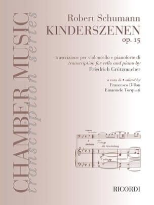 Robert Schumann - Scènes d'enfant Op. 15 - Partition - di-arezzo.fr