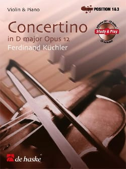 Ferdinand Küchler - Concertino in D major, Opus 12 - Sheet Music - di-arezzo.co.uk