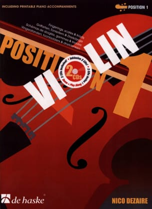Nico Dezaire - Position 1 - Violin - Partition - di-arezzo.fr