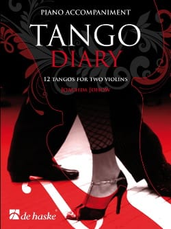 Joachim Johow - Tango Diary - Piano Accompaniment - Partition - di-arezzo.fr