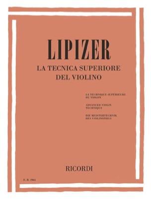 Rodolfo Lipizer - The Tecnica Superiore del Violino - Sheet Music - di-arezzo.com