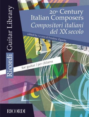 - 20th Century Italian Composers - Compositori italiani (Guitar) - Partition - di-arezzo.fr