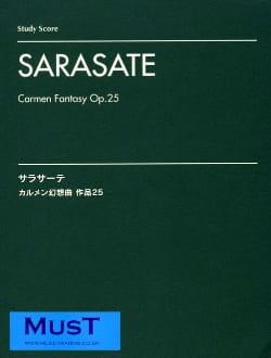 Pablo de Sarasate - Carmen fantasy, op. 25 - Partition - di-arezzo.fr