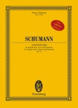 SCHUMANN - Adventlied, op. 71 - Sheet Music - di-arezzo.com