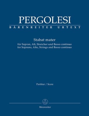 Giovanni Battista Pergolesi - Stabat Mater - Conducteur - Partition - di-arezzo.fr