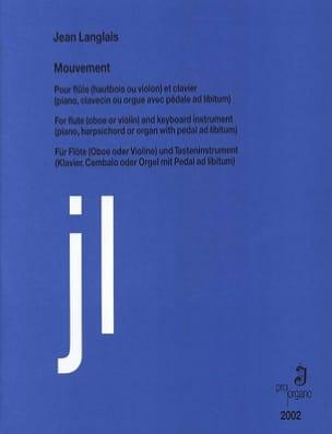 Jean Langlais - Movement - Flute and Keyboard - Sheet Music - di-arezzo.co.uk