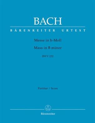 Messe en si mineur BWV 232 - Partitur BACH Partition laflutedepan