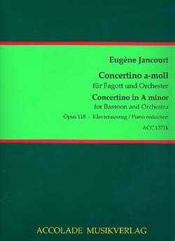 Eugène Jancourt - Concertino A-moll op. 118 - Partition - di-arezzo.fr