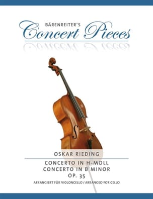 Oskar Rieding - Concerto in D minor op. 35 - cello - Sheet Music - di-arezzo.co.uk