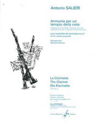 Armonia per un tempo della note - SALIERI - laflutedepan.com