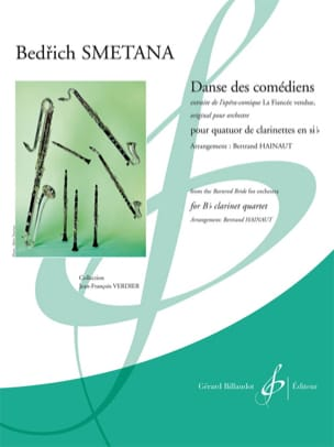 Bedrich Smetana - Danse des Comédiens - Partition - di-arezzo.fr
