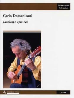 Landscape op. 126 - Carlo Domeniconi - Partition - laflutedepan.com