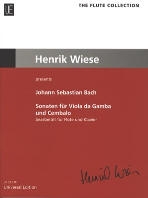 Sonates pour viole de gambe - Johann Sebastian Bach - laflutedepan.com