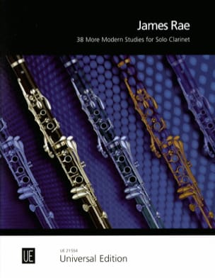 38 more Modern Studies for Solo Clarinet James Rae laflutedepan