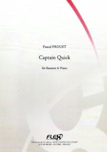 Captain Quick Pascal Proust Partition Basson - laflutedepan